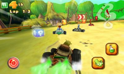 Shrek Kart™ HD - Шрэк подался в автогонки