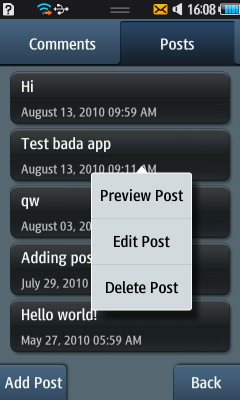 wordpress bada
