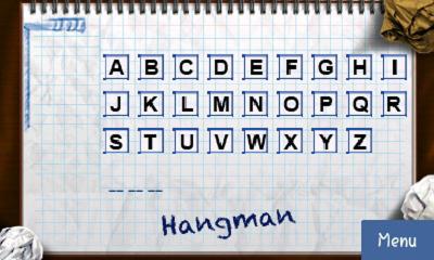 [Игры] Hang man - виселица в рисованном стиле