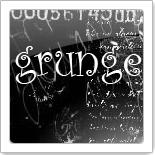 [Nu Skin] Grunge - тема с красивыми иконками