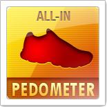 All-in Pedometer - шагомер с множеством различных данных