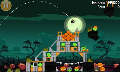 لعبة Angry Birds لسامسونج
