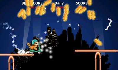 لعبة رايدر للجالكسي Raccoon Rider