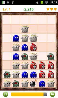 لعبة الوحوش لسامسونج Monster Black