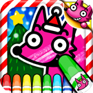 Wow! Christmas Coloring Book 썸네일