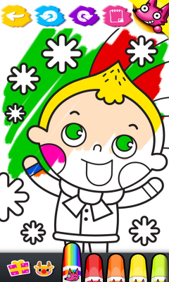 Wow! Christmas Coloring Book 스크린샷 4