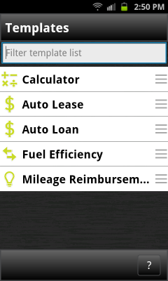 Auto Calculator - a powerOne Pack 스크린샷 3