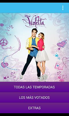 Violetta para móviles Samsung Android, La serie de Violetta en tu móvil