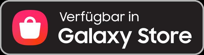 Verfügbar in Samsung Galaxy Store